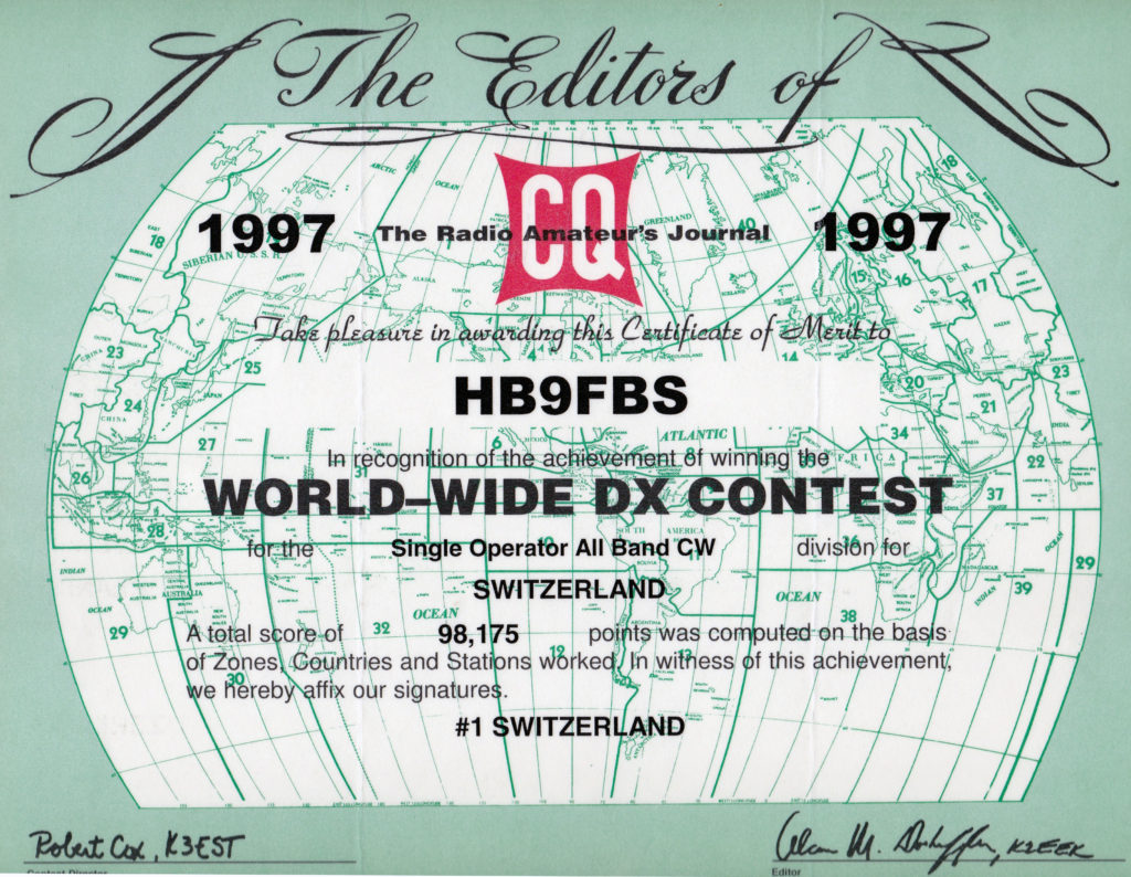 1997-ww-dx-cw-contest