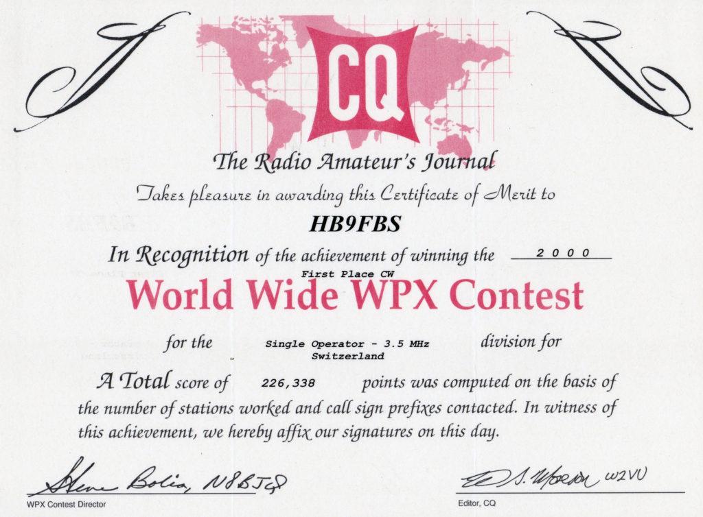 2000-cq-wpx-cw-contest
