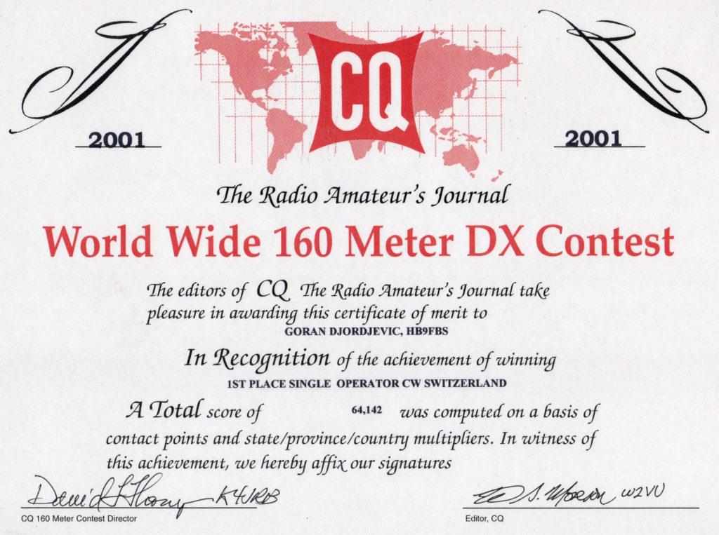 2001-cq-ww-dx-160-cw-contest